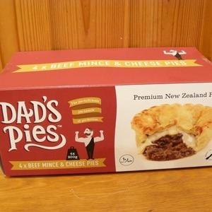 Dad's Pies ビーフミンチ&チーズパイ 4個入り