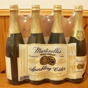 Martinelli's マーティネリ パークリング サイダー 750ml×4本