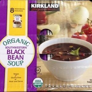 カークランド 有機黒インゲン豆スープ 8箱