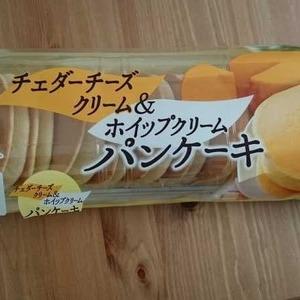 ヤマザキ チェダーチーズクリーム&ホイップクリーム パンケーキ