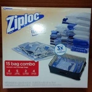 ジップロック(Ziploc) スペースバッグ  圧縮バッグ