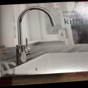 グローエ コンチェットシングルレバーハイスパウト 引き出し式キッチンシャワー混合水栓