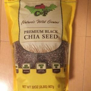 C&F ブラックチアシード Premium Black Chia Seed