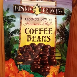 アイランドプリンセス チョコレートカバード コーヒービーンズ