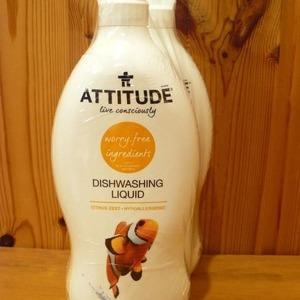 アティチュード デュッシュウォッシング リキッド(食器用洗剤) ATTITUDE DISHWASHING LIQUID