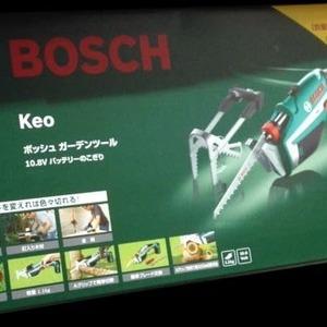 BOSCH ボッシュ KEO ガーデンツール 10.8V バッテリーのこぎり