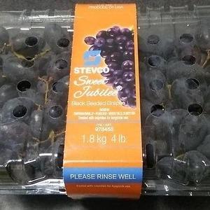 STEVCO ブラックシーデッドグレープ Black Seeded Grapes