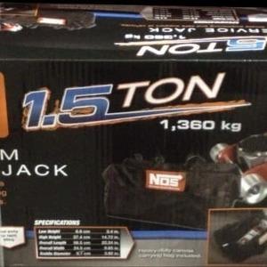 NOS 1.5トン アルミジャッキ ポータブルバック付き
