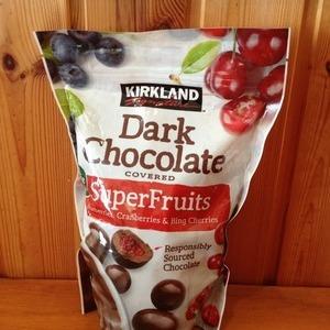 カークランド  ダークチョコレート スーパーフルーツ