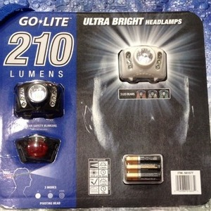 GO LITE ULTRA BRIGHT LEDヘッドランプ