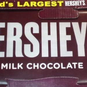 ハーシーズ ミルクチョコレート ジャイアントバー