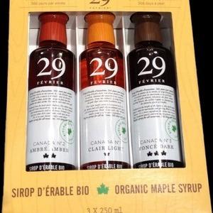 29 FEVRIER オーガニック メープルシロップ 3種