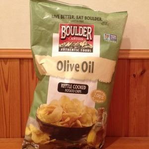 Boulder Canyon Olive Oil Kettle Chips オリーブオイル ケトルチップス
