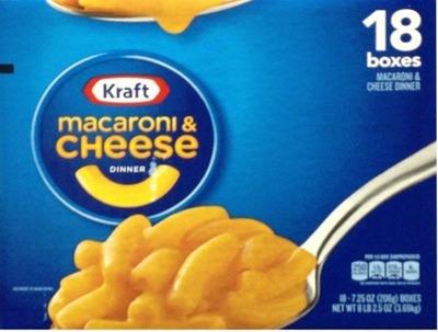 クラフト マカロニ&チーズ チーゼストオリジナル