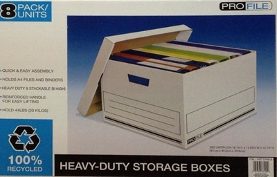 OMT ストレージボックス 書類・衣類保管箱