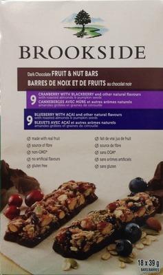 ブルックサイド ダークチョコレート フルーツ&ナッツバー 18本入り
