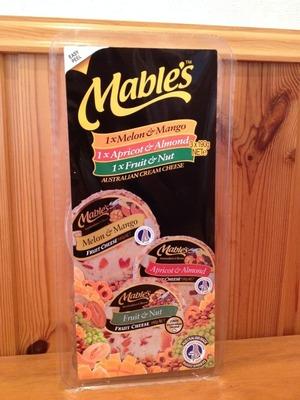 Mable's クリームチーズ (フルーツチーズ) アソートメント