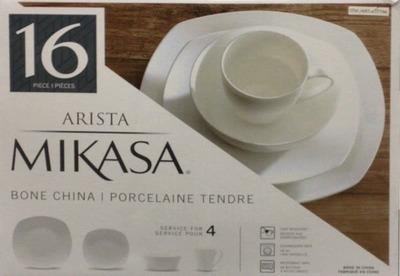 MIKASA ARISTA ボーンチャイナ ディナーウェア 16PCセット