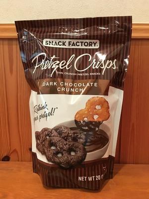 SNACK FACTORY プレッツェル クリスプ ダークチョコレート クランチ
