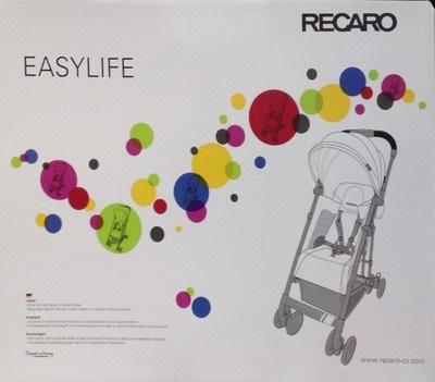 (名無し)さん[2]が投稿したRECARO EASYLIFE ベビーカーの写真