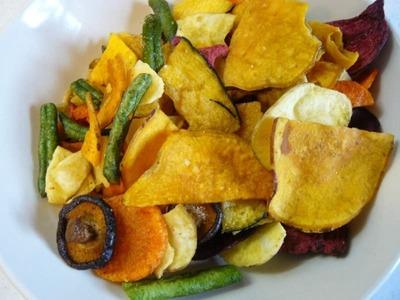 (名無し)さん[4]が投稿した沖縄特産販売 ミックス ベジタブル チップス 7種の野菜の写真