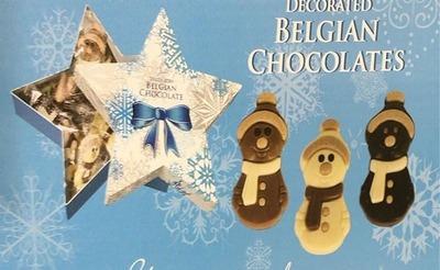 BELFINE スノーマン チョコレート アソート スターボックス