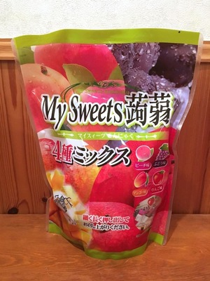 下仁田物産 My Sweets 蒟蒻 4種ミックス