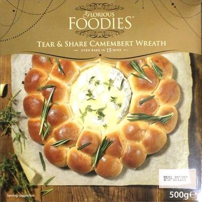 GLORIUS FOODIES カマンベールチーズとパンのリース