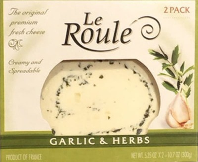 LE ROULE ル・ルレ ガーリック&ハーブ フレッシュチーズ