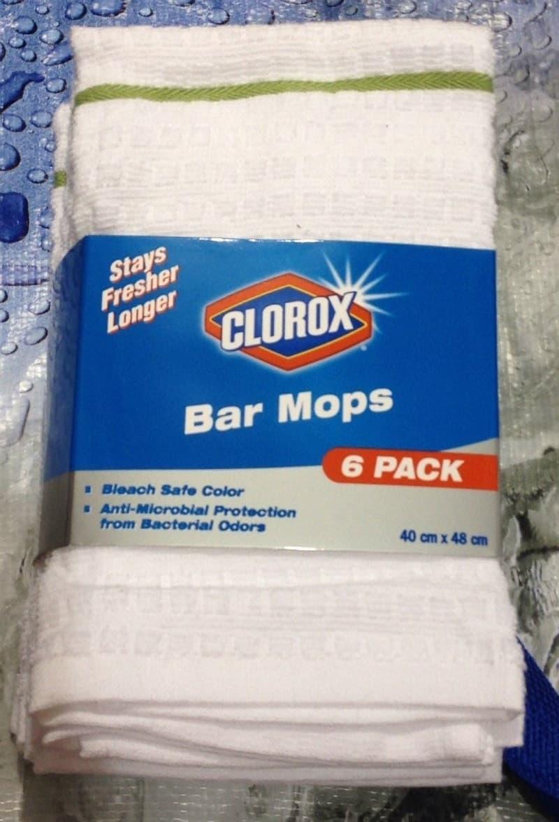 [2]が投稿したCLOROX 雑巾 6枚セットの写真