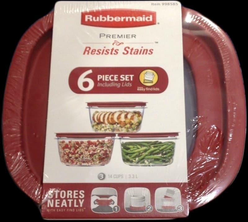 [2]が投稿したRUBBERMAID ラバーメイド プレミア 保存容器 6個セットの写真