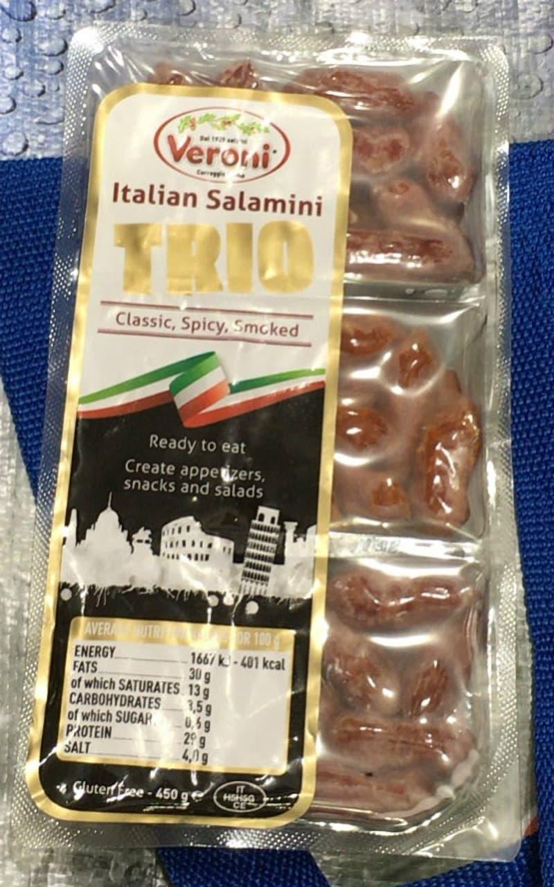 [1]が投稿したVERONI ITALY ミニサラミ トリオパックの写真