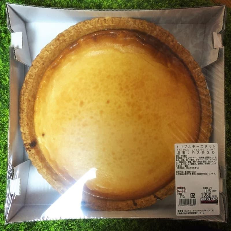 madoさん[13]が投稿したカークランド トリプルチーズタルトの写真