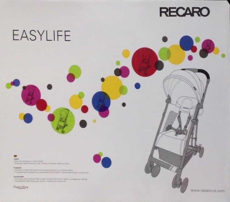 [2]が投稿したRECARO EASYLIFE ベビーカーの写真