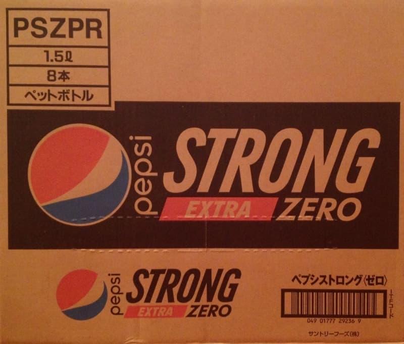 [1]が投稿したペプシ ストロング エクストラ ゼロ PEPSI STRONG EXTRA ZEROの写真