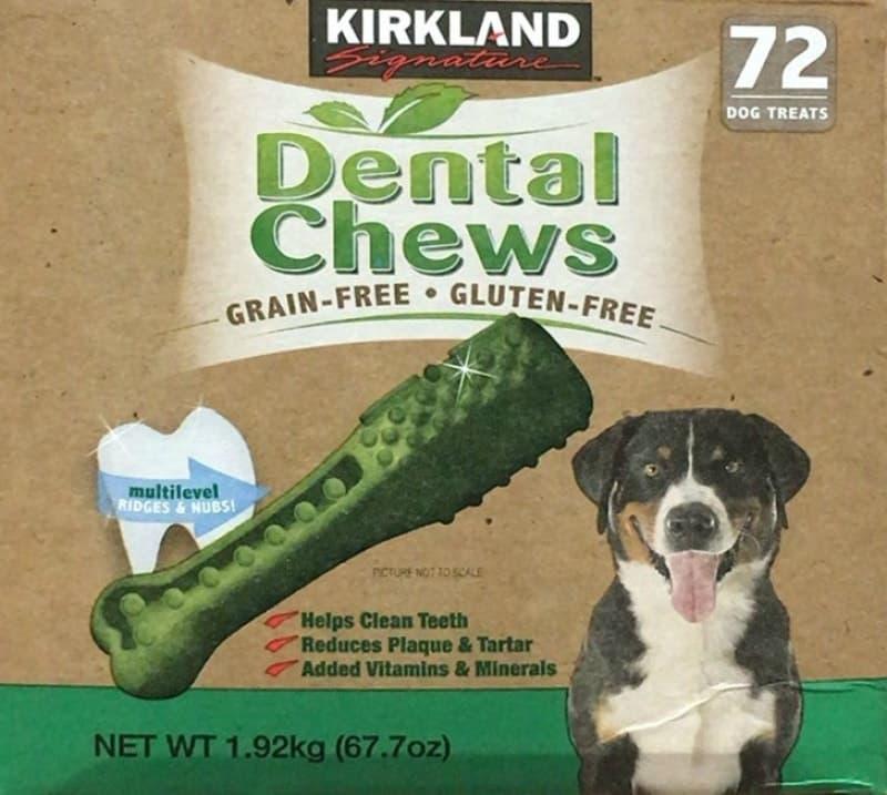 [1]が投稿したカークランド デンタルチュウ(犬用おやつ)の写真