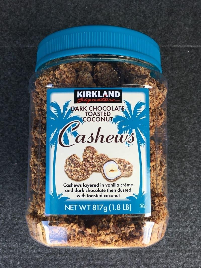 [2]が投稿したカークランド ダークチョコレート ココナッツカシューの写真