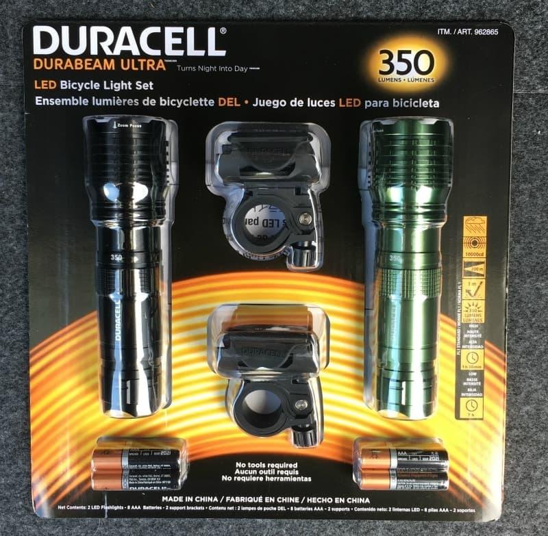 [9]が投稿したDURACELL デュラセル LED防滴懐中電灯の写真