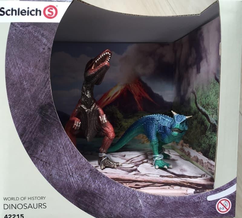 ヤシさん[1]が投稿したシュライヒ 恐竜フィギュア Schleich DINOSAURSの写真