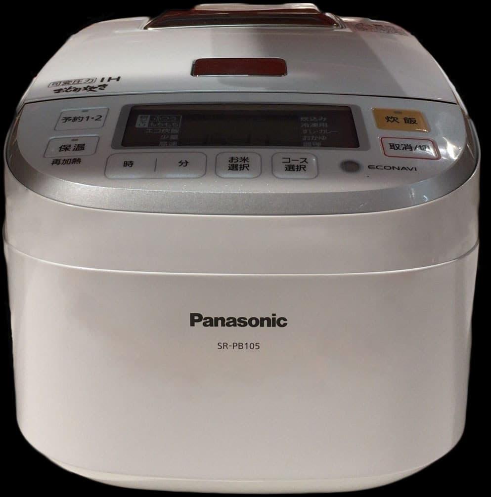[1]が投稿したPANASONIC IH炊飯ジャーおどり炊き SR-PB105-Wの写真