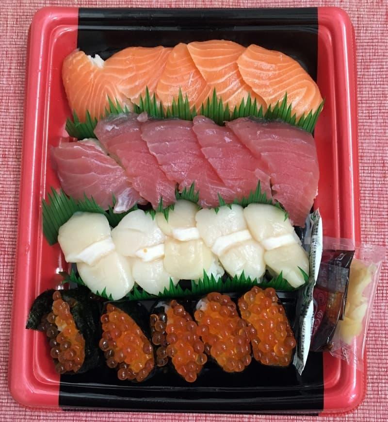 ゆみかさん[37]が投稿したカークランド にぎり寿司 20貫セットの写真