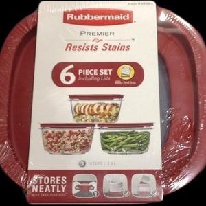 RUBBERMAID ラバーメイド プレミア 保存容器 6個セット