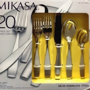 MIKASA 20ピース カトラリーセット 4人用
