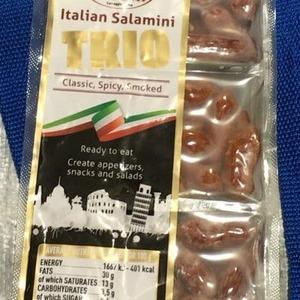VERONI ITALY ミニサラミ トリオパック