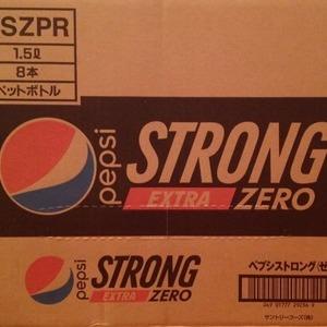 ペプシ ストロング エクストラ ゼロ PEPSI STRONG EXTRA ZERO