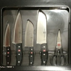 ZWILLING ツヴィリング ツインポルックス ナイフ4本/ハサミ1本セット
