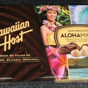 ハワイアンホースト ALOHA MACS マカダミアチョコレート