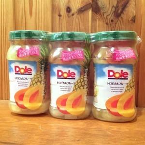 DOLE ドール トロピカルフルーツ フルーツボトル 3個セット
