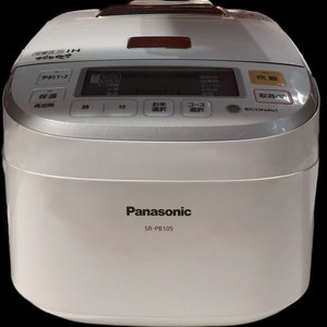 PANASONIC IH炊飯ジャーおどり炊き SR-PB105-W