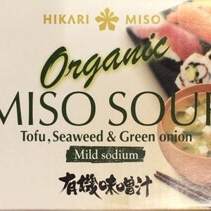 ひかり味噌 オーガニック ミソスープ 有機味噌汁